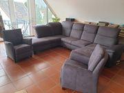 Hochwertig elegante Couchgarnitur mit zwei
