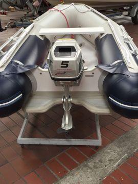 Honda Honwave mit Honda BF5: Kleinanzeigen aus Halle Nietleben - Rubrik Motorboote