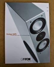 Canton Living Hifi Katalog 2001