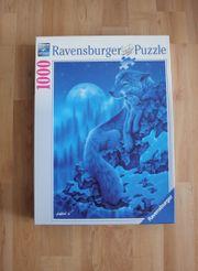 Ravensburger Puzzle 1000 Teile Wolfs-Nacht