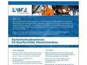 Sicherheitsabnehmer CE-Konformität Maschinenbau m w