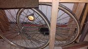 28-ger Fahrrad-Räder gebraucht