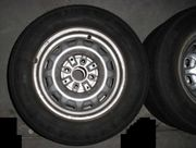 4x Reifen mit Felgen 155