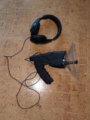 Parabolmikrofon professionell mit 8-fach-Okular