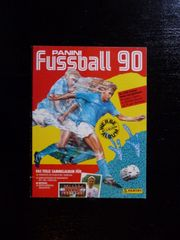 Panini Sammelbilder-Album Fussball 90