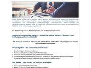 Steuerfachangestellter Steuerfachwirt Steuer - und Prüfung