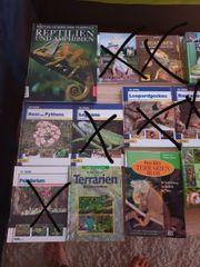 Reptilien Bücher Terrarium Buch Paket