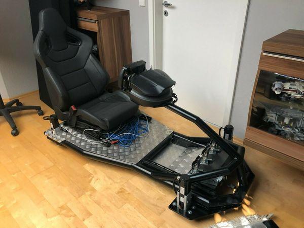 Virtueller Rennsitz VRS 4D D-Box