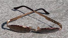 Schmuck, Brillen, Edelmetalle - byblos Sonnenbrille Vintage