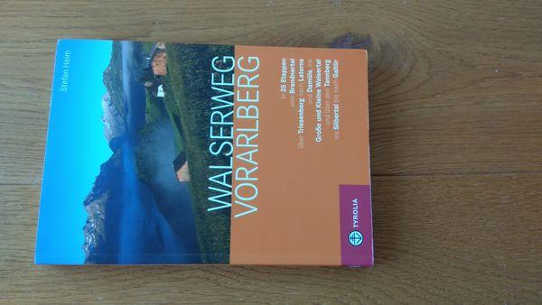 Buch Walserweg Vorarlberg