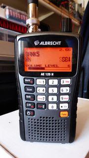 ALbrecht AE 125 H Funkscanner