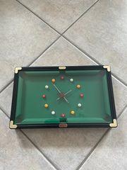 Billard-Uhr in Tischform