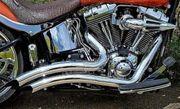 Vance Hines Auspuffanlage Harley FLSTF