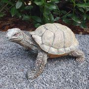 Schildkröte 32 cm lang Dekofigur