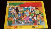 Kinderpuzzle 30 teilig Auf dem