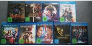 MARVEL BluRay Filme Sammlung