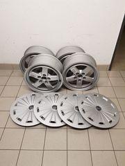 4 Original Audi Alufelgen für
