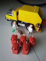 Playmobil Müllwagen