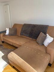 Couch Leder-Sitzlandschaft