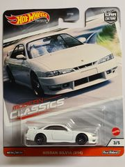 Hot Wheels Premium Nissan Silvia