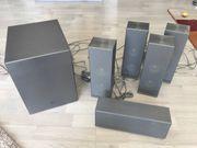 LG Lautsprechersystem Silber