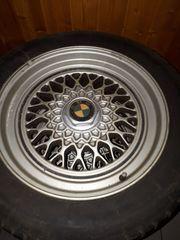 4 Original BMW Leichtmetallfelgen 195