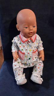 Baby Born Puppe viel Zubehör