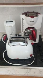 Wasserkocher Kaffeemaschine und Toaster günstig