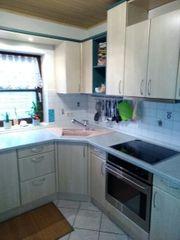 L-Küche in Apfel hell Marke