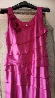 Elegantes Abendkleid Pink Rosa Gr