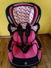 Osann Autositz pink-schwarz