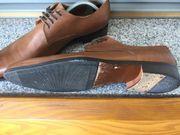 Tolle elegante italienische braune Herren-Schuhe