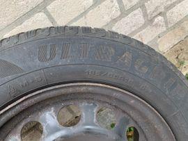 Winter 195 - 295 - 4 Winterreifen Stahlfelge Goodyear Ultragrip