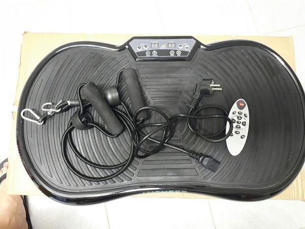 Vibrationsplatte Vibrations-Trainer Heimtrainer Fernbedienung schlanke