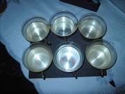 Teegläser Silber