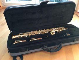 Jupiter Sopransaxophon sehr gut erhalten -: Kleinanzeigen aus Flonheim - Rubrik Blasinstrumente