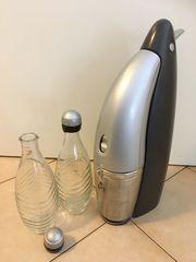 Sodastream Penguin mit 2 Glasflaschen