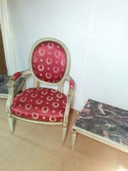Sessel französisch Stilmöbel Louis XVI