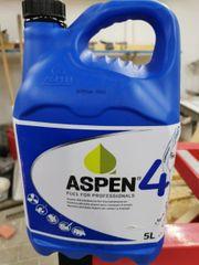 Aspen-Alkylatbenzin für Viertaktmotor