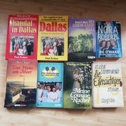 8 neuwertige Bücher
