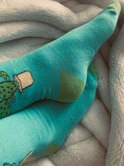 Socken getragen bis 3 Tage