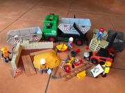Playmobil Containerdienst 3318 Baustelle 4138