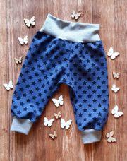 NEU - Pumphose Sterne blau - in