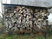 Ofenfertiges Brennholz Hartholz 4 Jahre