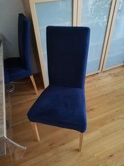 4 Esstisch-Stühle