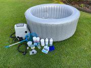 Verkaufe aufblasbaren Whirlpool