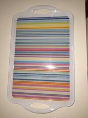 Tablett multifarben