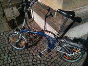 Brompton Faltrad in blau 3-Gang
