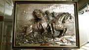 Spiegelbild aus echtem 925 Silberüberzug