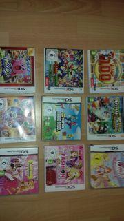 9 Stk Nintendo 3 DS